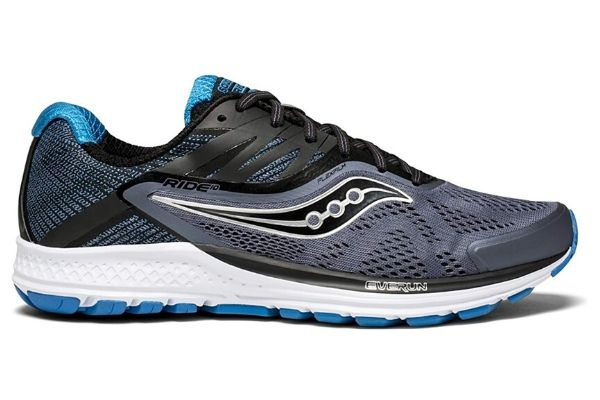Saucony Men's Ride 10 is the best shoes for people with high arches